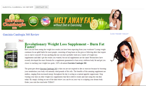 Garcinia Cambogia 360 Reviews - Freakin' Reviews