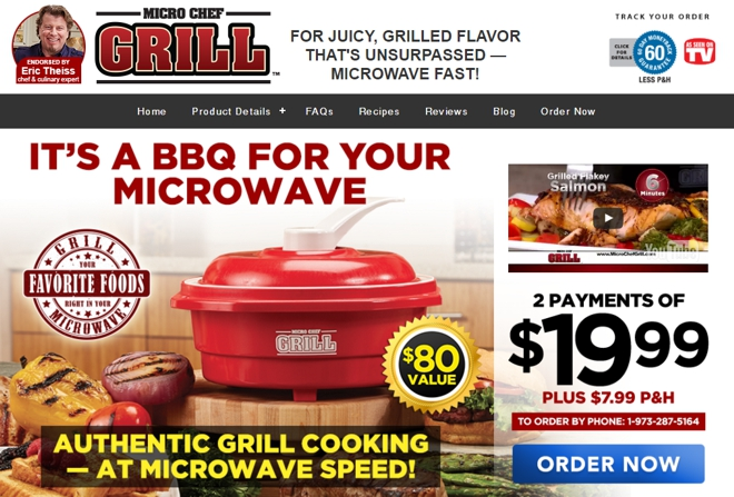 micro chef grill review