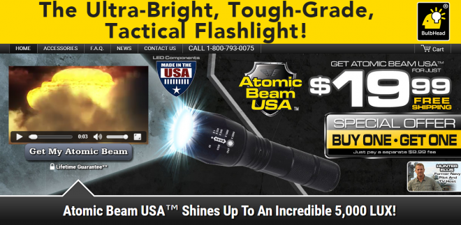 Atomic Beam Review Does This Tactical Light Work