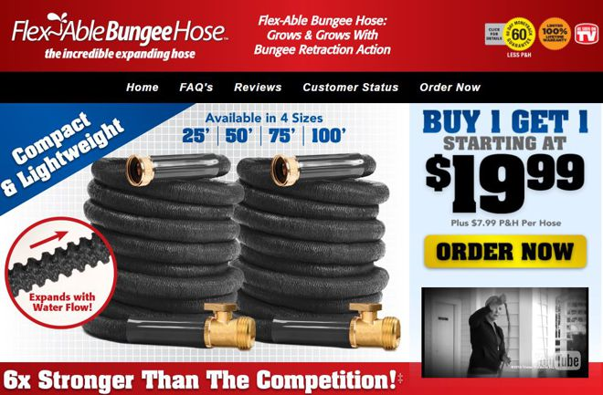 flexable bungee hose review