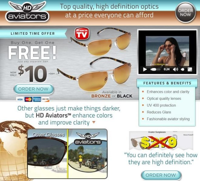 hd aviators review