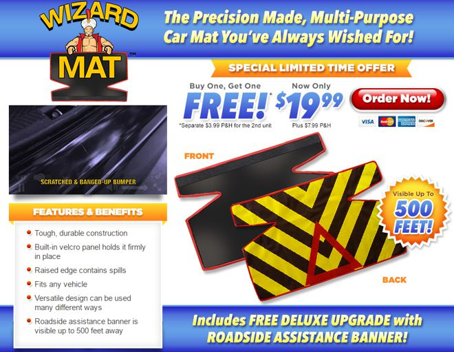wizard mat review