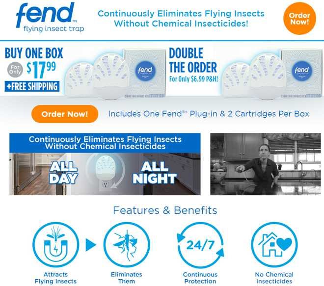 Fend Flying Insect Trap Review