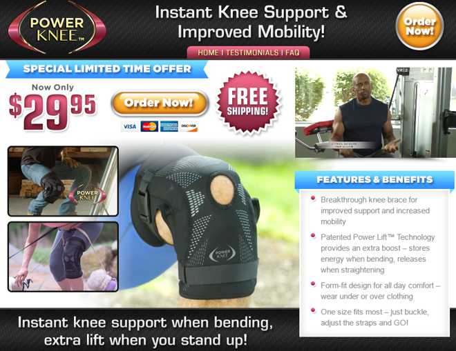 power knee review