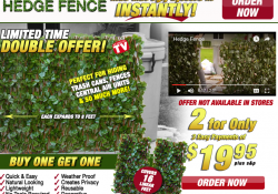 Hedge Fence review