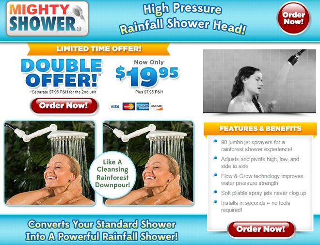 mighty shower review