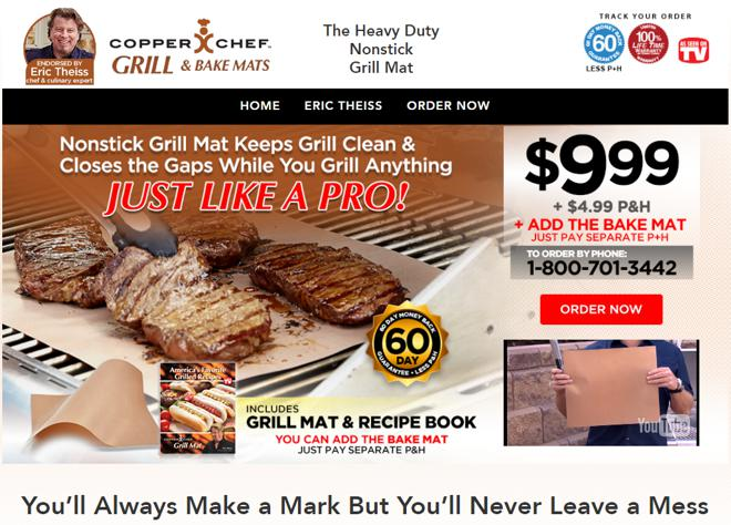 copper chef grill mat review