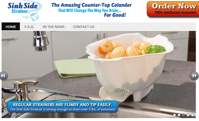 sink side strainer review