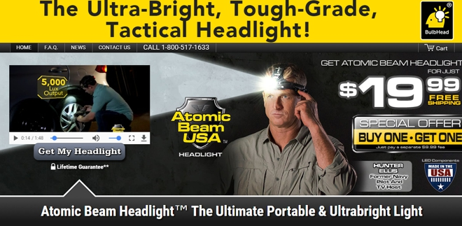 atomic beam headlight review