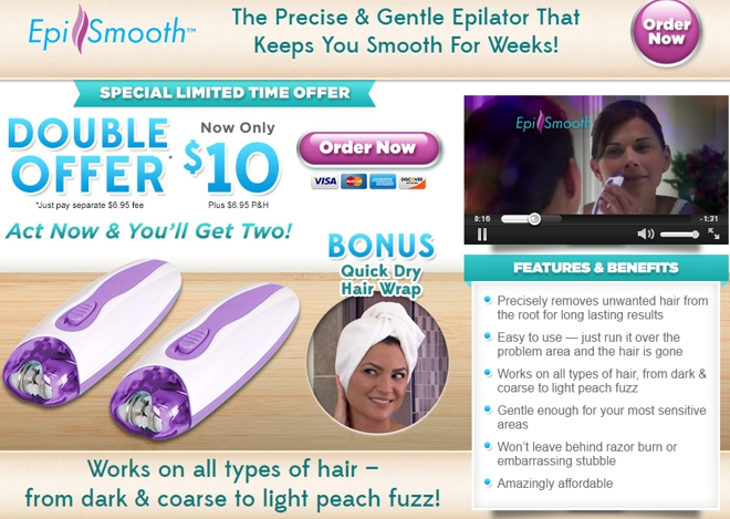 Epi Smooth Review: Inexpensive Hair Removal? - Freakin' Reviews