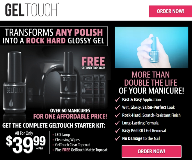 Gel Touch Review: Transform Nails into a Glossy Gel? - Freakin\' Reviews