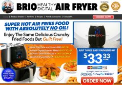 nuwave brio air fryer review