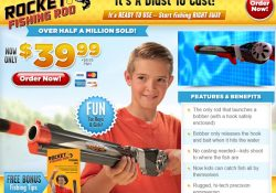 rocket fishing rod review