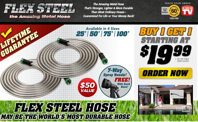 Flex Steel Hose Review Indestructible Metal Hose Freakin