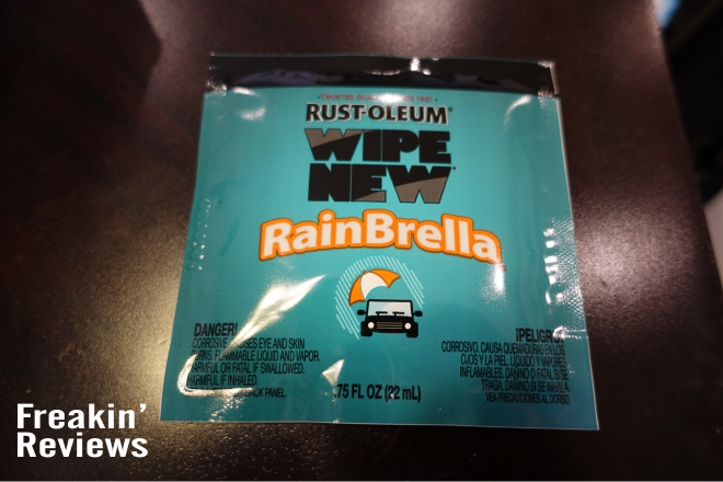 rainbrella packaging