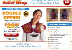 relief wrap review