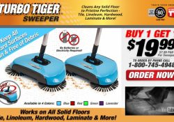 turbo tiger sweeper review