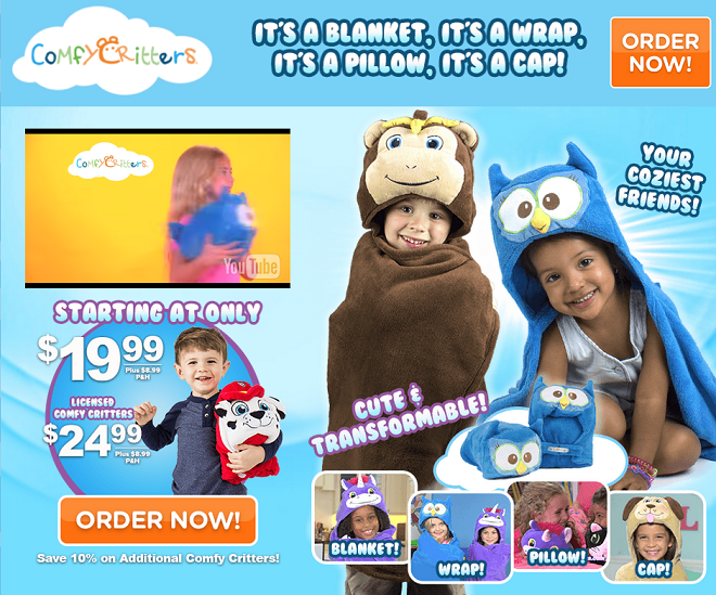 comfy critters review