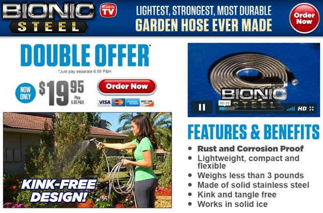 Bionic Steel Hose Review