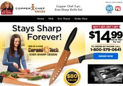 copper chef knives review