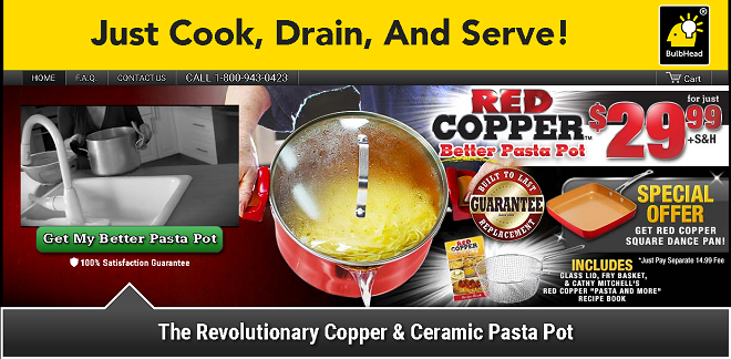 Red Copper Better Pasta Pot Review Does It Work