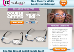 ez makeup glasses review