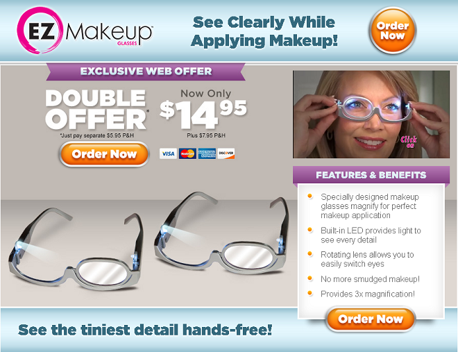 0fd85913c2 EZ Makeup Glasses Review  Do They Work  - Freakin  Reviews