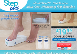 step pedi review
