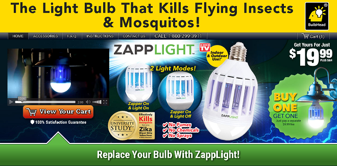 zapplight review