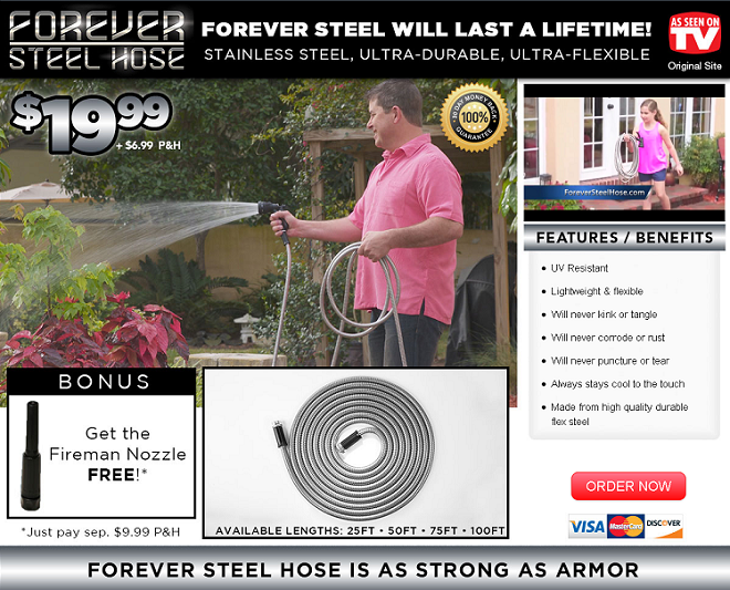forever steel hose review