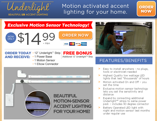 Underlight Review Automatic Accent Lighting Photos Freakin Reviews