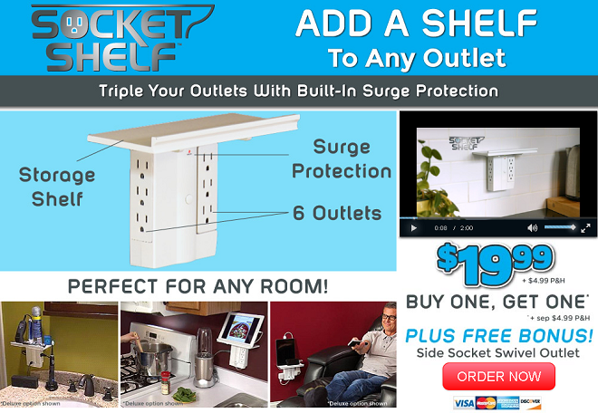 socket shelf review