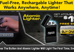 atomic lighter review