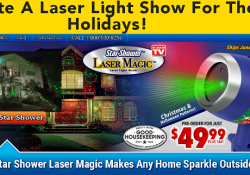 star shower laser magic review