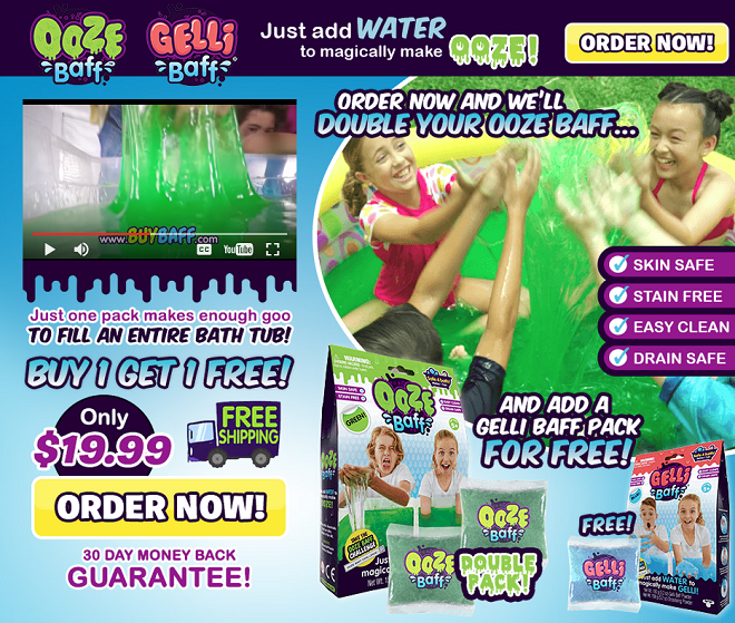 ooze baff review