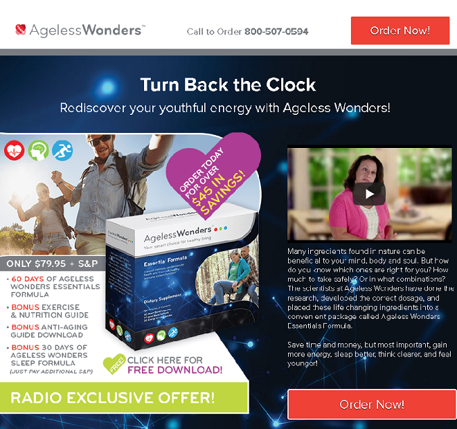ageless wonders review