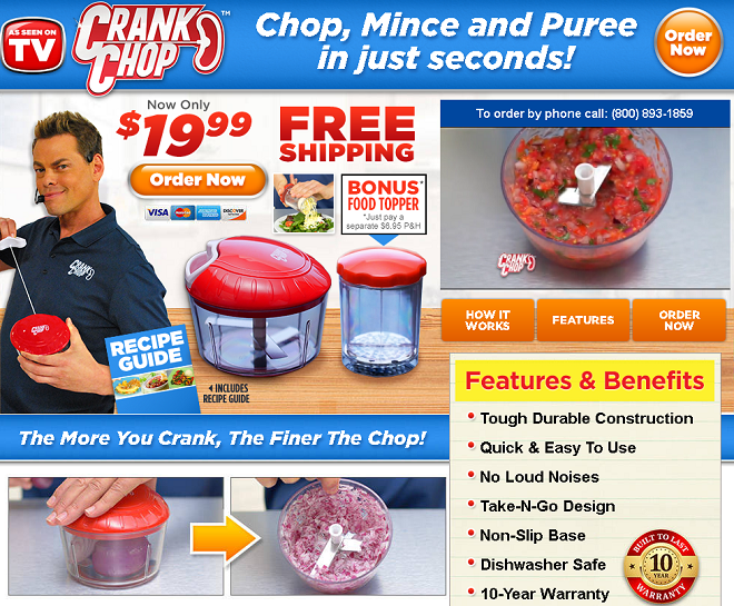 crank chop review