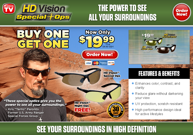 6671659e7d HD Vision Special Ops Review  Tactical Sunglasses - Freakin  Reviews