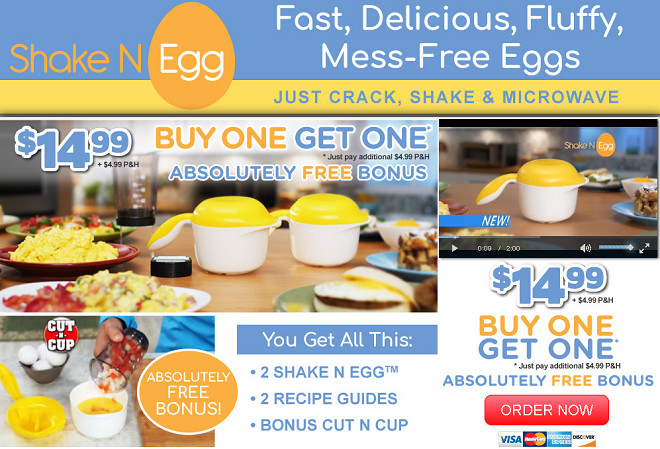shake n egg review