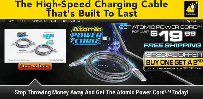 atomic power cord review