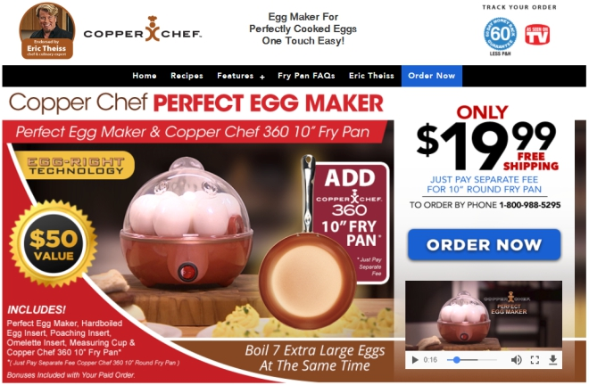 copper chef perfect egg maker review