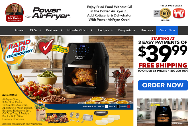 Power Airfryer Oven Review Hands On Tests Freakin Reviews