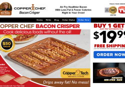 copper chef bacon crisper review