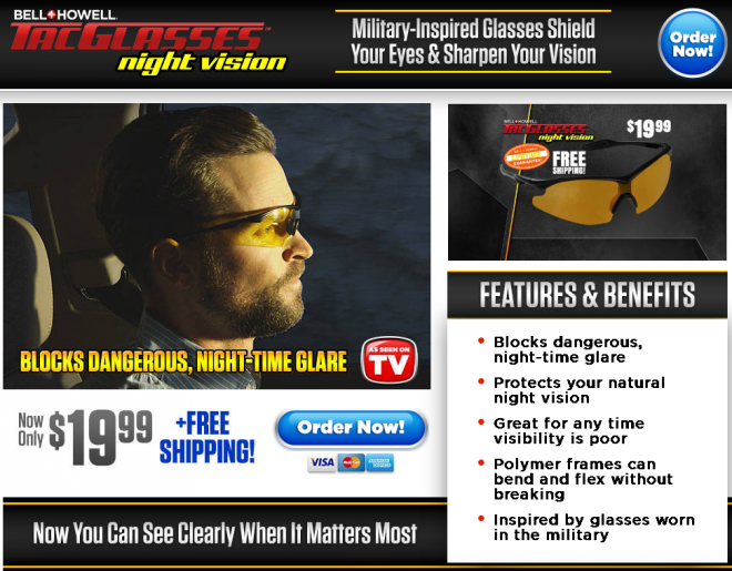 d0fa741bc8 Tac Glasses Night Vision Review  Do They Work  - Freakin  Reviews