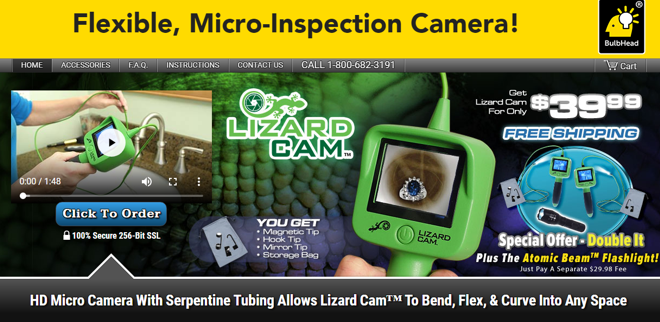 Lizard Cam Review 4 Foot Inspection Cam Freakin Reviews