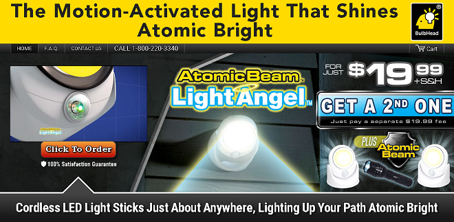 Atomic Beam Light Angel Review Does It Work Freakin
