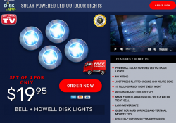 bell & howell disk lights review