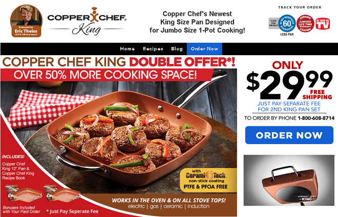 copper chef king review