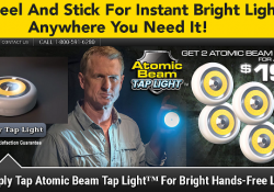 atomic beam tap light review