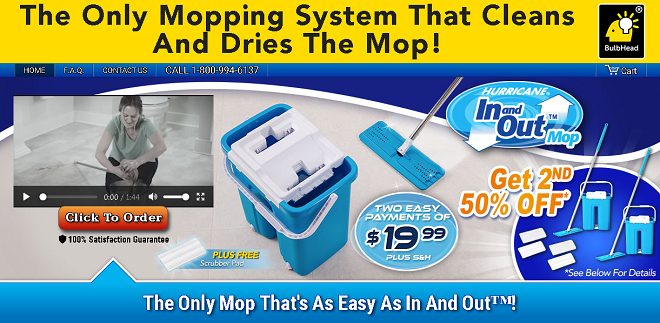 Hurricane In And Out Mop Review Dual Chamber Mopping
